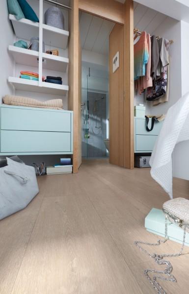 Meister Design Laminat Eiche greige 6959, LD 250, Kurzdiele, Wasserresistent