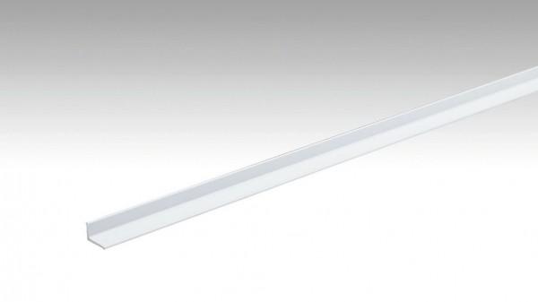 Abschlussprofil Typ 300 SK (selbstklebend) Oberfläche Weiß pulverbeschichtet 270cm