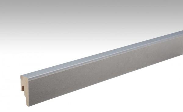 Leisten für NADURA 6486 Metallic hellgrau 18x50mm 8PK von MEISTER