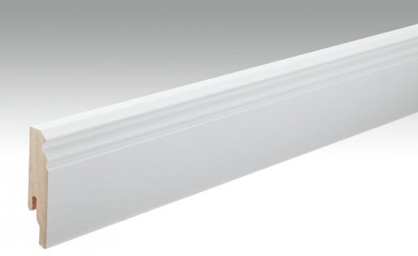 Sockelleisten Profil 11 PK von MEISTER in weiß 18x80mm Hamburger / Berliner Profil