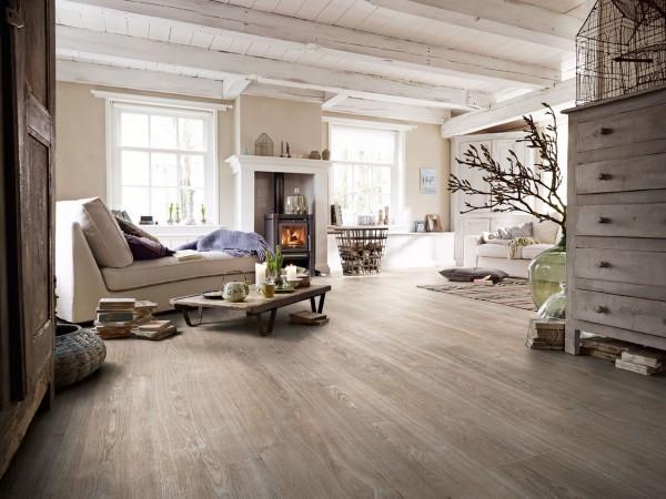 Meister Design Laminat Eiche weißgrau 6277, LL 250, Landhausdiele, Wasserresistent