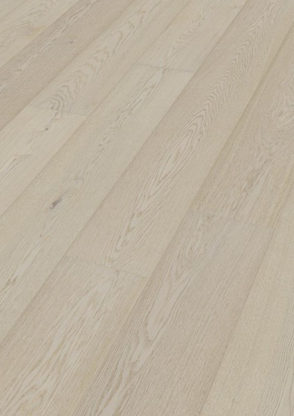 LINDURA Holzboden 8735 Eiche natur arcticweiß in B Ware Landhausdiele meister- lich 27cm breite