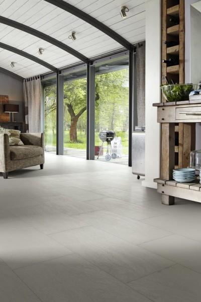 NADURA Designboden 6486 Metallic hellgrau von Meister NB 400