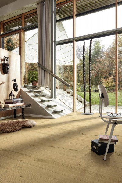 Meister LINDURA Holzboden 8739 Eiche authentic Landhausdiele 27cm Breite