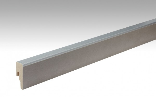 Leiste für NADURA 6314 Strukturbeton Warmgrau Profil 8 PK 18x50mm von MEISTER