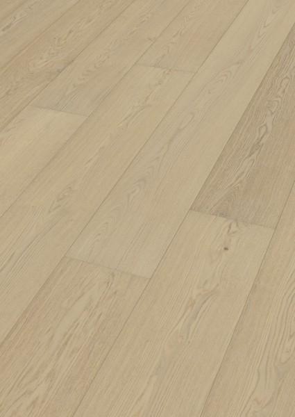 LINDURA Holzboden 8734 Eiche natur Alabaster in B Ware Landhausdiele meister- lich 27cm breite