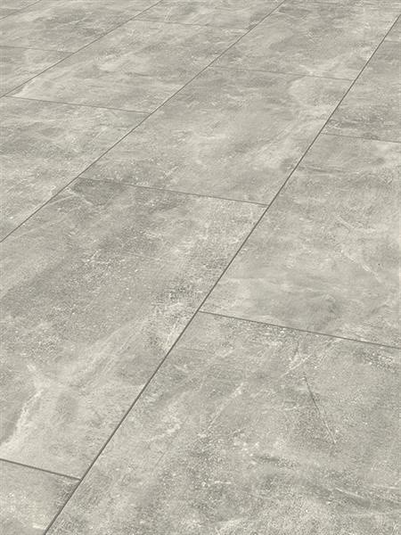 Check green Click Designboden *Ameln Beton 2434* Fliese 4V-Fuge