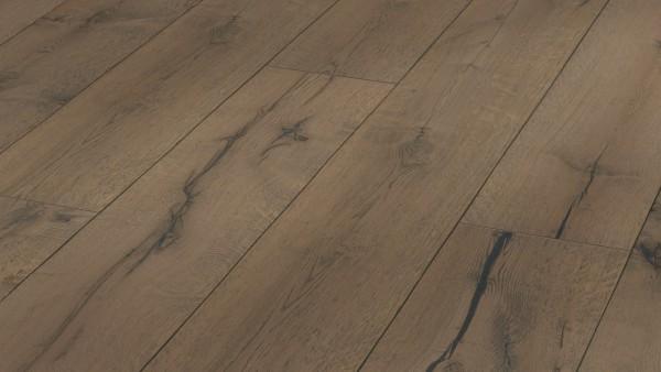LINDURA Holzboden 8411 Eiche rustikal lehmgrau in B Ware Landhausdiele meister- lich 27cm breit