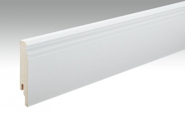 Sockelleisten Profil 12 PK von MEISTER in weiß 18x100mm Hamburger / Berliner Profil