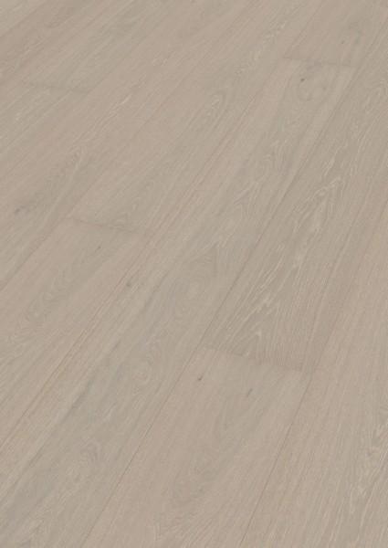 Parkett Eiche harmonisch grauweiß 8774 Landhausdiele 25,5cm breit Meister-lich Sonderposten B Ware