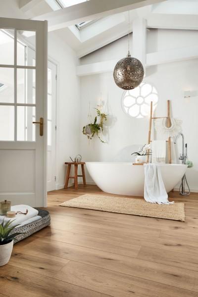 Meister Design Laminat Feldeiche hell 6843, LD 250, Kurzdiele, Wasserresistent