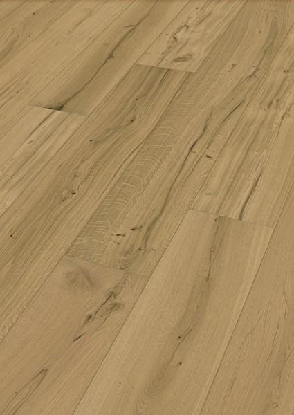 LINDURA Holzboden 8746 Eiche authentic in B Ware Landhausdiele meister- lich 27cm breite