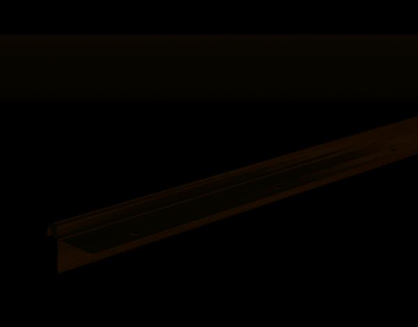Treppenkantenprofil Typ 11 (10-11mm) Edelstahl Oberfläche 270cm