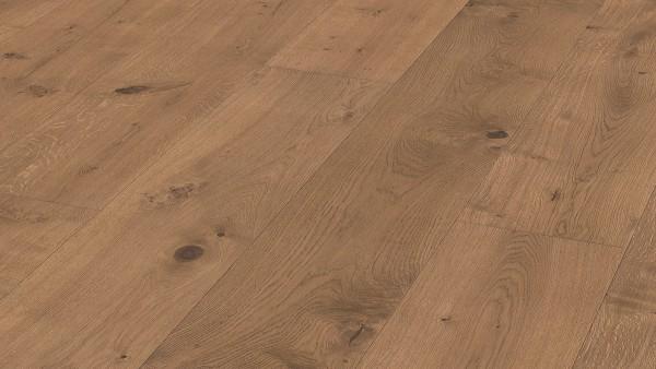LINDURA Holzboden 8512 Eiche rustikal cappuccino in B Ware Landhausdiele meister-lich 32cm breit