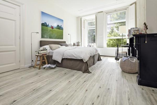 Meister Designboden Tecara DD 350 S Eiche markant grauweiß 6971 Purtec-Oberfläche Klick