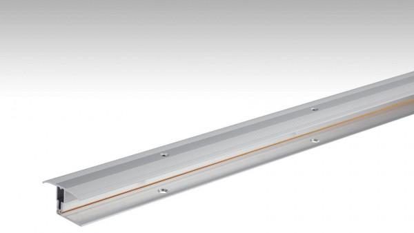Übergangsprofil Flexo Typ 302 (7-17mm) Edelstahl Oberfläche 100cm