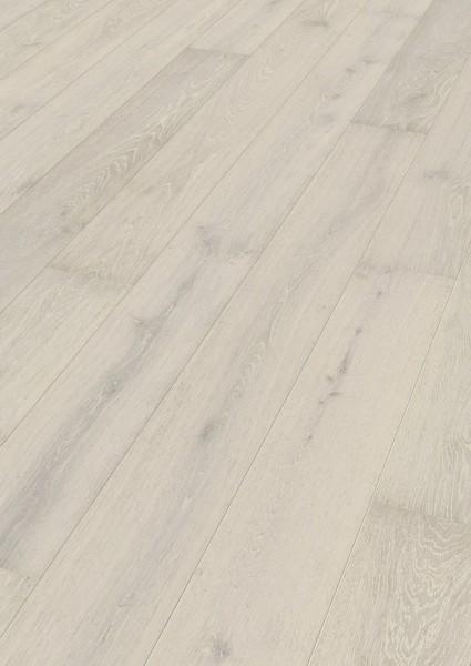 Parkett Eiche lebhaft weiß gekälkt 8542 Landhausdiele Meister- lich mattlack B Ware Klick PD 400