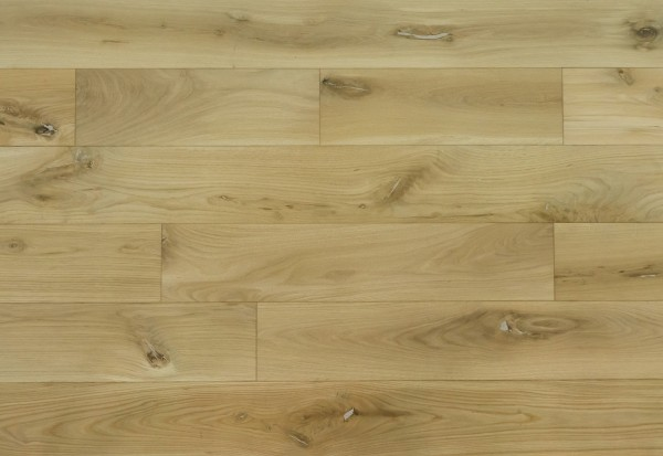 Massivholzdielen Eiche Rustikal 20x160mm naturgeölt und gebürstet