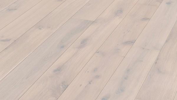 Parkett Eiche rustikal arcticweiß 8455 Landhausdiele Meister- lich Sonderposten in guter B Ware