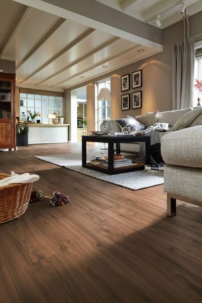 Meister Design Laminat Nussbaum Amore 6389, LL 150, Landhausdiele, Wasserresistent