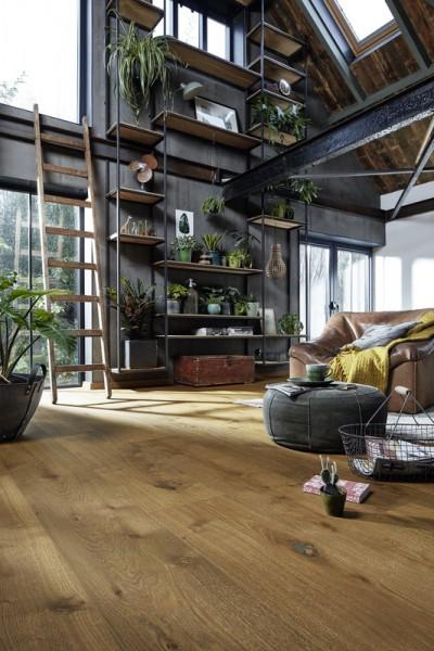 Meister LINDURA Holzboden 8748 Eiche authentic Dry Wood Landhausdiele 27cm Breite