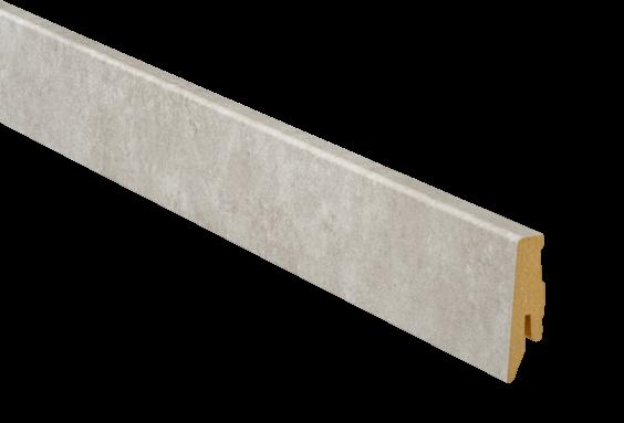 Sockelleiste E02 Stein Cartagena Vinyl Profil SKL 60 von Terhürne