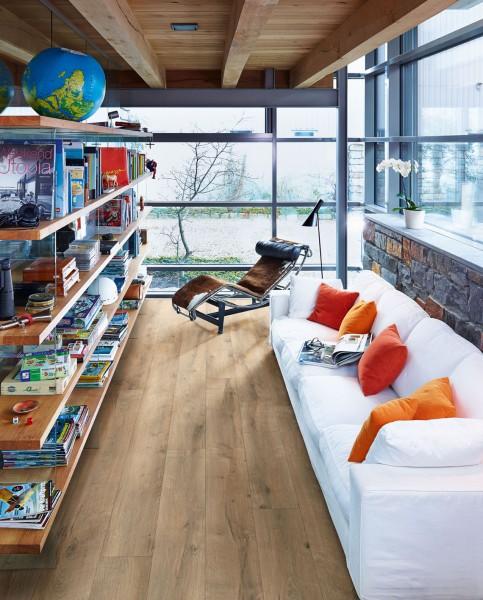 Meister Design Laminat Risseiche Terra 6439, LL 150, Landhausdiele, Wasserresistent