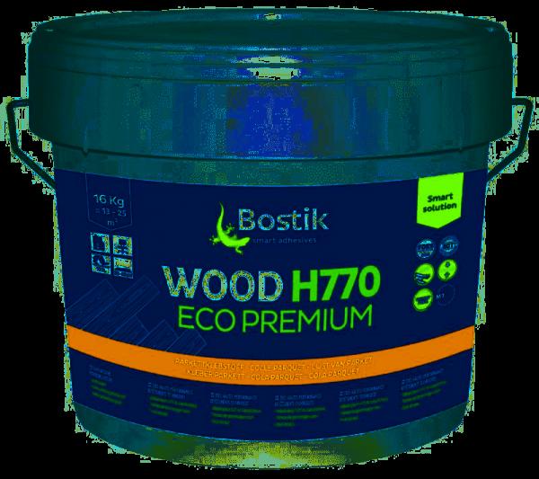 Schubfester Parkettkleber von Bostik Eco H770 16 KG Klebstoff für Linduraböden