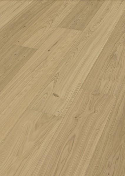 LINDURA Holzboden 8743 Eiche natur pure in B Ware Landhausdiele meister- lich 32cm breit