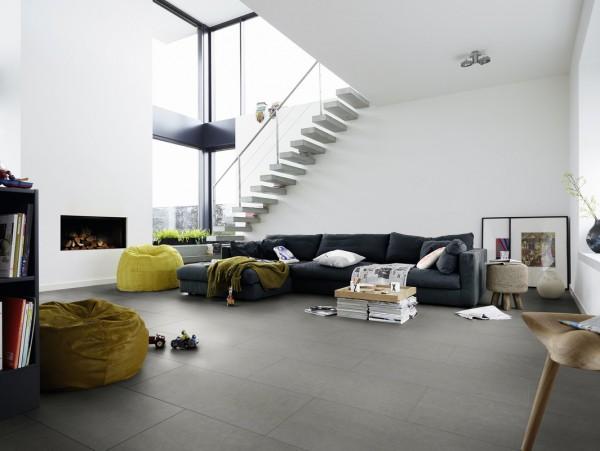 NADURA Designboden 6223 Hickory betongrau von Meister NB 400