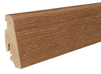 Haro Sockelleisten 16x58mm Bernsteineiche strukturiert für Parkett Echtholzfurniert Massivholzkern