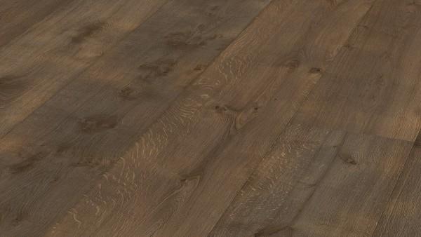 LINDURA Holzboden 8511 Eiche rustikal olivgrau Vintage B Ware Landhausdiele meister- lich 32cm breit