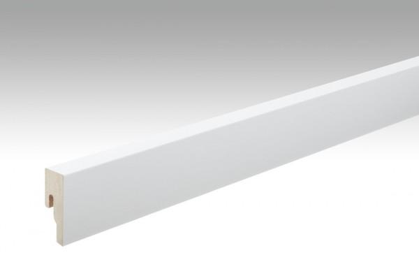 Sockelleisten Profil 8 PK von MEISTER in Uni weiß 324 Maße 18x50mm