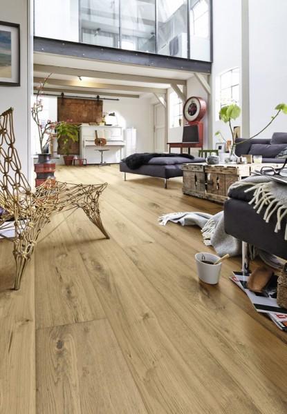 Meister LINDURA Holzboden 8413 Eiche rustikal pure Landhausdiele 27cm Breite