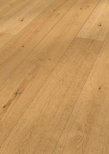 LINDURA Holzboden 8417 Eiche lebhaft in B Ware Landhausdiele meister- lich 32cm breite