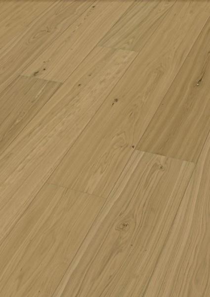LINDURA Holzboden 8745 Eiche natur in B Ware Landhausdiele meister- lich 27cm breit