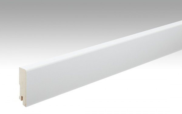Sockelleisten Profil 15 MK von MEISTER in Uni weiß 324 Maße 16x60mm