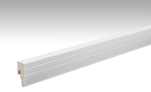 Sockelleisten Profil 18 PK von MEISTER in Uni weiß 324 Maße 18x50mm