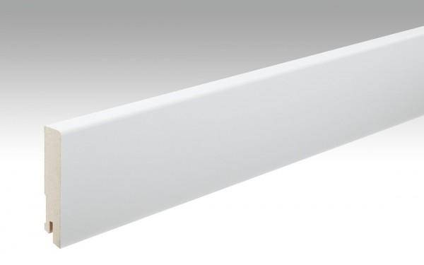 Sockelleisten Profil 16 MK von MEISTER in Uni weiß 324 Maße 16x80mm
