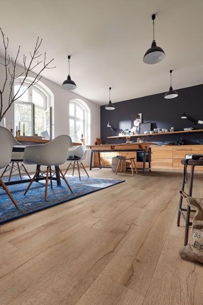 Meister Design Laminat Eiche Savona 6852, LD 150, Kurzdiele, Wasserresistent