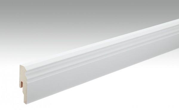 Sockelleisten Profil 10 PK von MEISTER in weiß 18x60mm Hamburger / Berliner Profil