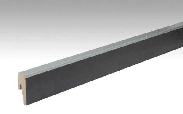 Leisten für NADURA 6482 Metallic anthrazit 18x50mm 8PK von MEISTER