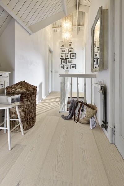 Meister LINDURA Holzboden 8735 Eiche natur arcticweiß Landhausdiele 27cm Breite