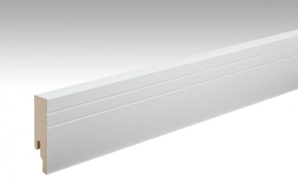 Sockelleisten Profil 19 PK von MEISTER in Uni weiß 324 Maße 18x80mm