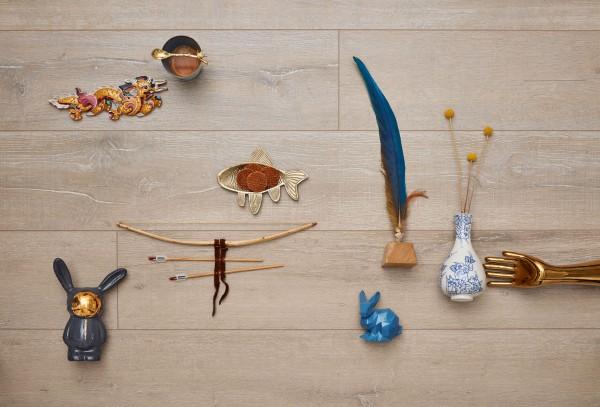 Meister Design Laminat Eiche Mittsommer 6864, LL 150 S, Wasserresistent, inkl. Trittschalldämmung