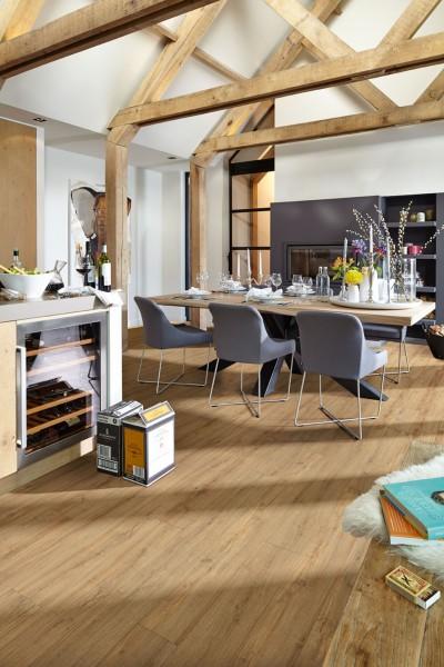 Meister Design Laminat Eiche Nova 6413, LL 150, Landhausdiele, Wasserresistent