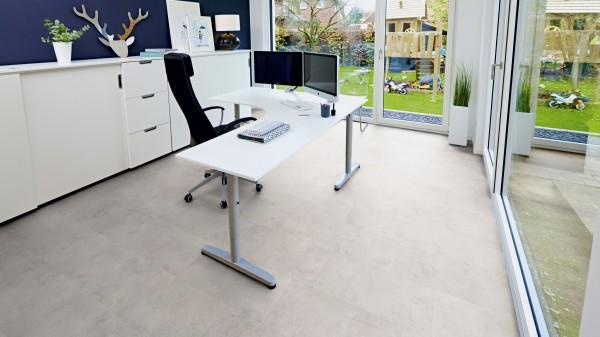 Terhürne Avatara *Stein Talos betongrau* O02 Designboden PerForm Fliese