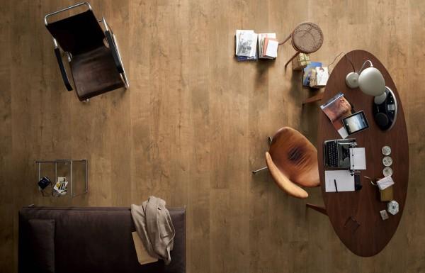 Meister Vinylboden OHNE Vinyl DL 600 S Stieleiche cognac 6949 MeisterDesign. Comfort