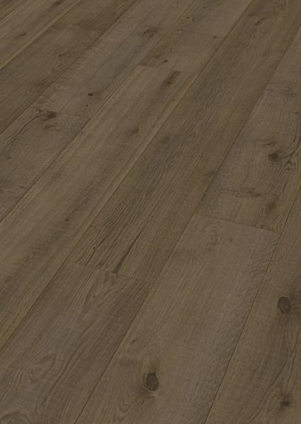 LINDURA Holzboden 8511 Eiche rustikal olivgrau Vintage B Ware Landhausdiele meister- lich 27cm breit