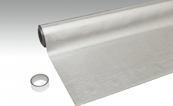 2mm Trittschalldämmung Meister Silence 15 dB inkl Alu Dampfsperre, für FBH geeignet